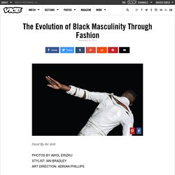 The Evolution of Black Masculinity Through Fashion