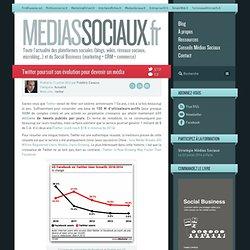 Twitter poursuit son évolution pour devenir un média