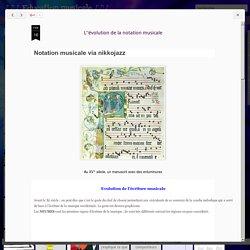 ♪♫♪ Education musicale ♪♫♪ : L''évolution de la notation musicale