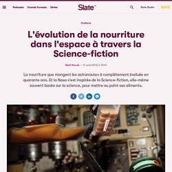 L'évolution de la nourriture dans l'espace à travers la Science-fiction