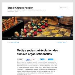 Médias sociaux et évolution des cultures organisationnelles
