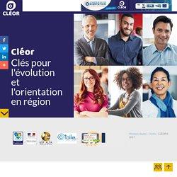 CLÉOR - Clés pour l'évolution et l'orientation en région