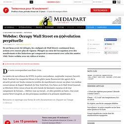 Reportage et Webdoc: Occupy Wall Street en (r)évolution perpétuelle
