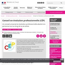 Conseil en évolution professionnelle (CÉP) - Evoluer professionnellement