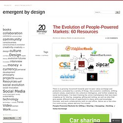 The Evolution of People-Powered Markets: 60 Resources