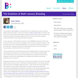 The Evolution of Multi-sensory Branding