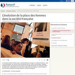 L'évolution de la place des femmes dans la société française