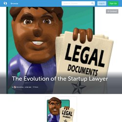 The Evolution of the Startup Lawyer (with image) · aboutaboy