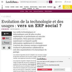 Evolution de la technologie et des usages : vers un ERP social ?, Le Cercle