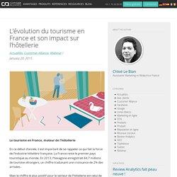 L'évolution du tourisme en France et son impact sur l'hôtellerie