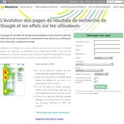 L'évolution des pages de résultats de recherche de Google et les effets sur les utilisateurs