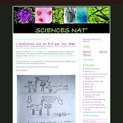 L'évolution vue en B.D par les 3ème - Sciences Nat'