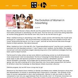 The Evolution of Women in Advertising