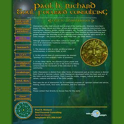 Paul H Richard Soul Focused Coaching Evolutionary AstrologyPortland shamanism Portland celtic Portland celtic shaman Portland astrology reading