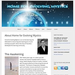 About Home for Evolving Mystics — Bruce Sanguin's Blog on Evolutionary Christianity