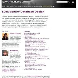 Evolutionary Database Design