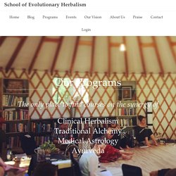 Programs — School of Evolutionary Herbalism