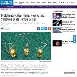 Evolutionary Algorithms - Design Beyond Imagination