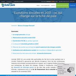Evolutions sociales en 2021 : ce qui change sur la fiche de paie - Fiche-paie.net