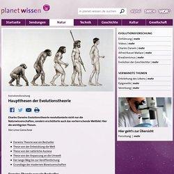 Evolutionsforschung: Evolutionstheorie - Evolutionsforschung - Forschung - Natur