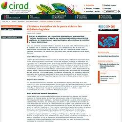 CIRAD 25/11/10 L'histoire évolutive de la peste éclaire les épidémiologistes