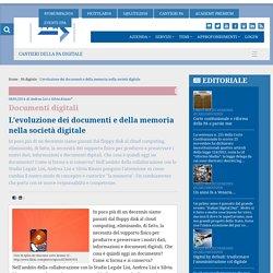 L'evoluzione dei documenti e della memoria nella società digitale