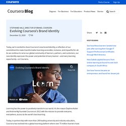 Evolving Coursera's Brand Identity