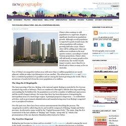 The Evolving Urban Form: Jing-Jin-Ji (Dispersing Beijing)