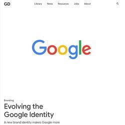 Evolving the Google Identity