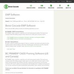 EWP Software - Boise Cascade