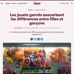 Les jouets genrés exacerbent les différences entre filles et garçons