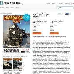 Narrow Gauge World