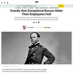 This 150 Year-Old Letter Shows Exactly How Exceptional Bosses Make Their Employees Feel