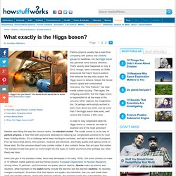 What exactly is the Higgs boson?""