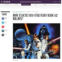 How Exactly Has Star Wars Made $37 Billion?