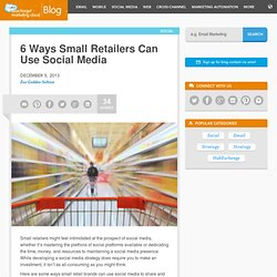 Social Media Strategy for the Retail Industry « Radian6 - Social Media Monitoring and Engagement