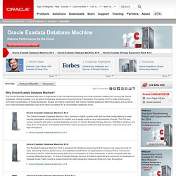 Exadata | Database | Oracle