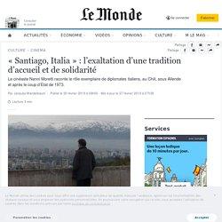 «Santiago, Italia»: l'exaltation d'une tradition d'accueil et de solidarité