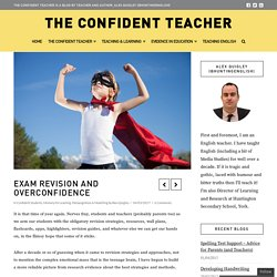 Exam Revision and Overconfidence