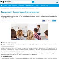 Examen oral : 5 conseils pour bien se préparer