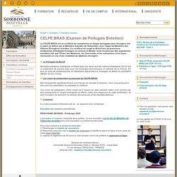 CELPE BRAS (Examen de Portugais Brésilien)