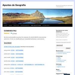 Apuntes de Geografía