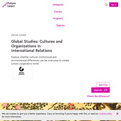Examine Global Culture - Online Global Studies Course
