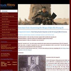 Examining the Reign of Qin Shi Huang Di