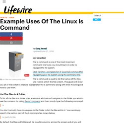 Example Uses Of The Linux ls Command