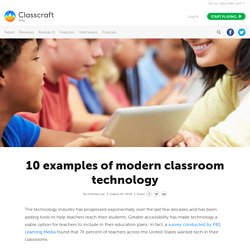 10 Examples of Modern Classroom Technology