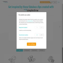 Check out some examples created with mysimpleshow