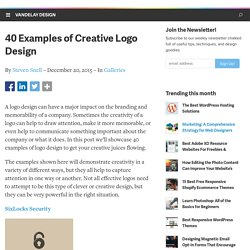 40 Examples of Creative Logo Design