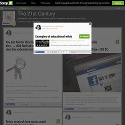 Examples of educational wikis | The 21st Century