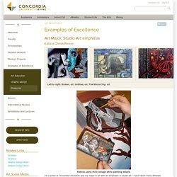 Fine Arts- Examples of Excellence - Studio Art